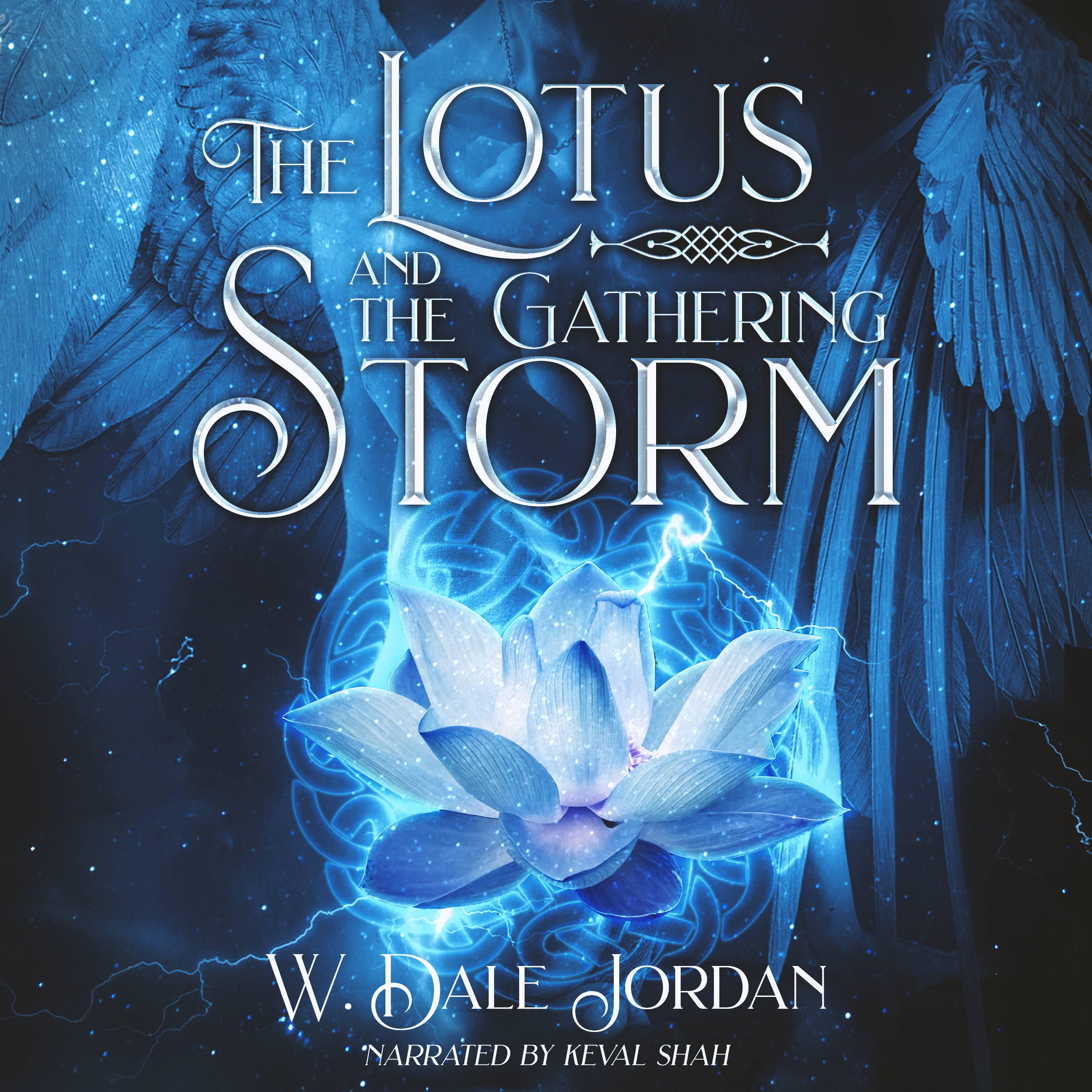 The Lotus and the Gathering Storm Audio Book Cover Art