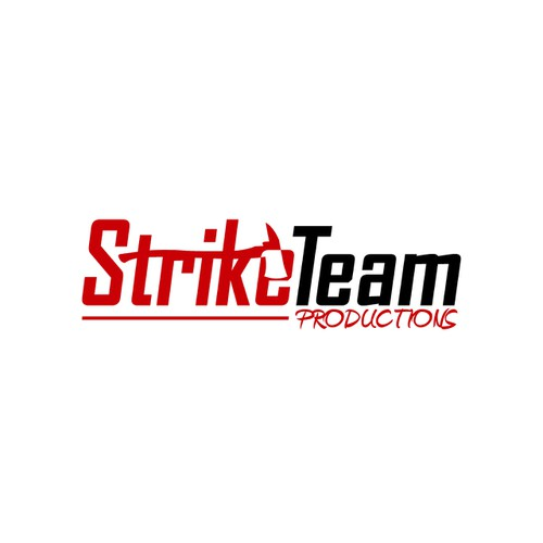 Create the next logo for Strike Team Productions