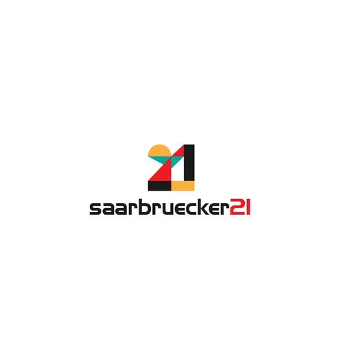 Logo design concept for Saarbruecker21