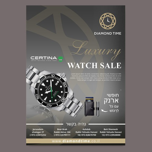 Luxury Watch Flyer