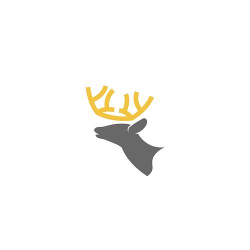 iconic deer logo