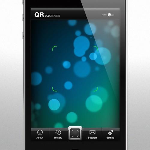 QR Code Reader UI