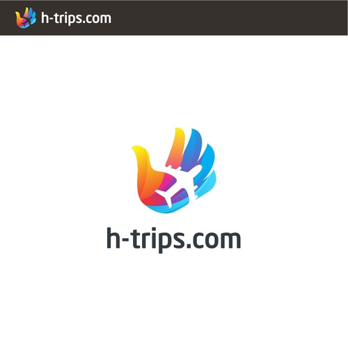 Logo travel and hotel