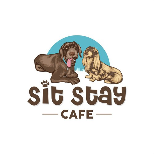 Logo Concept for Sit Stay Cafe