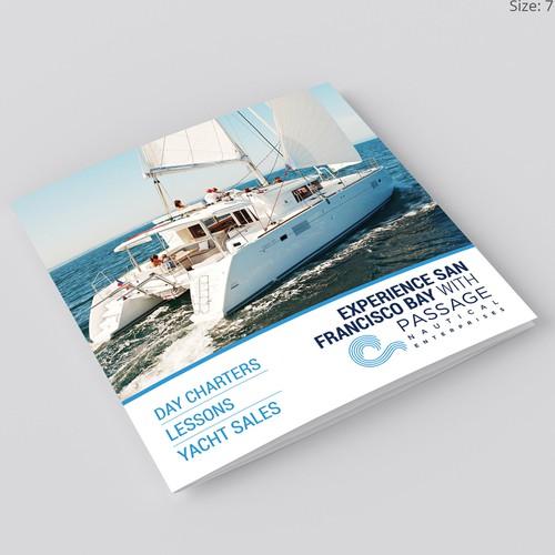 Brochure Design for Passage Nautical Enterprises