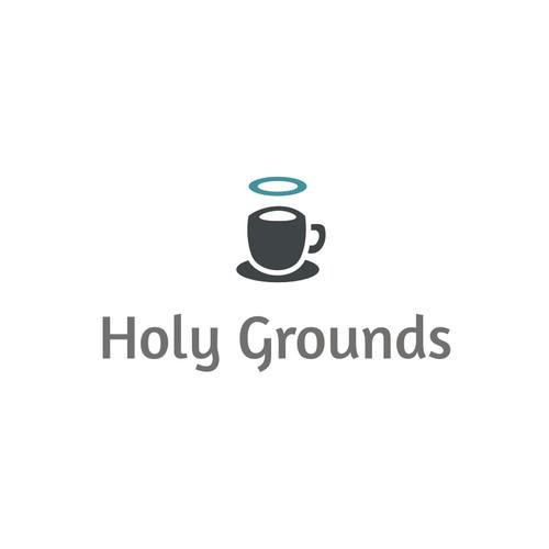 Create a contemporary logo for a small espresso stand.