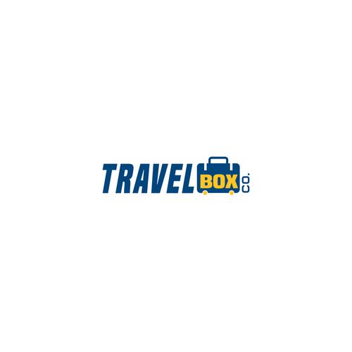 bold logo travel box