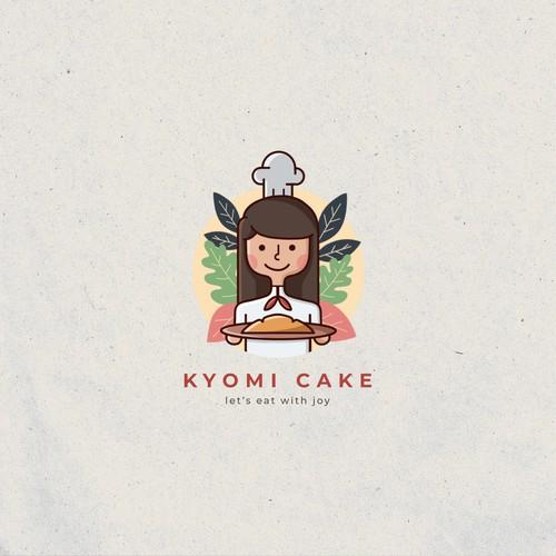 Kyomi Cake Logo