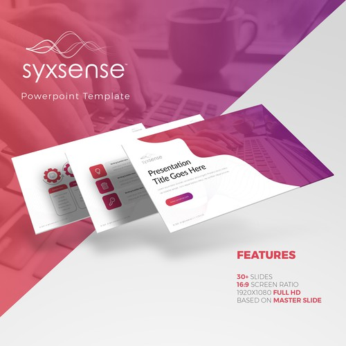 Syxsense Inc. Powerpoint Template Design