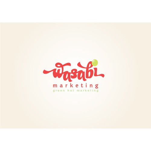 Create a new logo for Wasabi Marketing