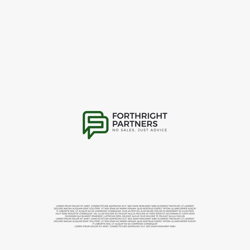 logo concept for Fortright Partners