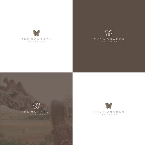 Design logo and brand guide for a luxury african safari company