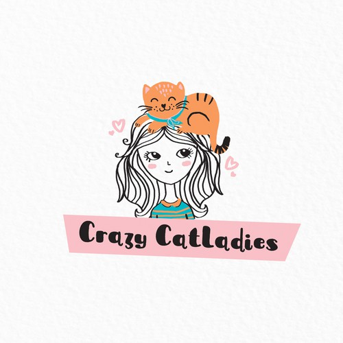 Logo for Cat accessories shop