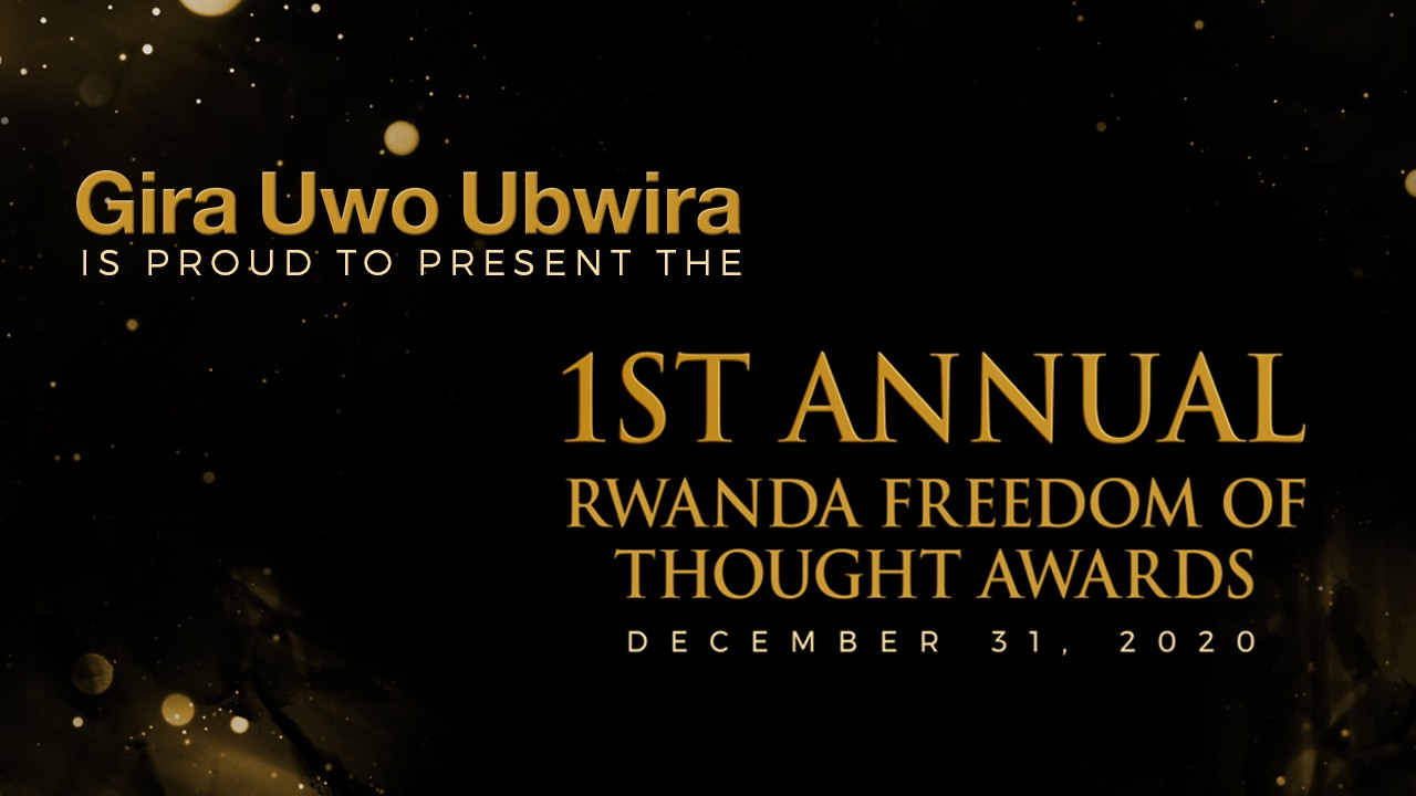 Animation - Announcing winners for Kanzeguhakwa Awards
