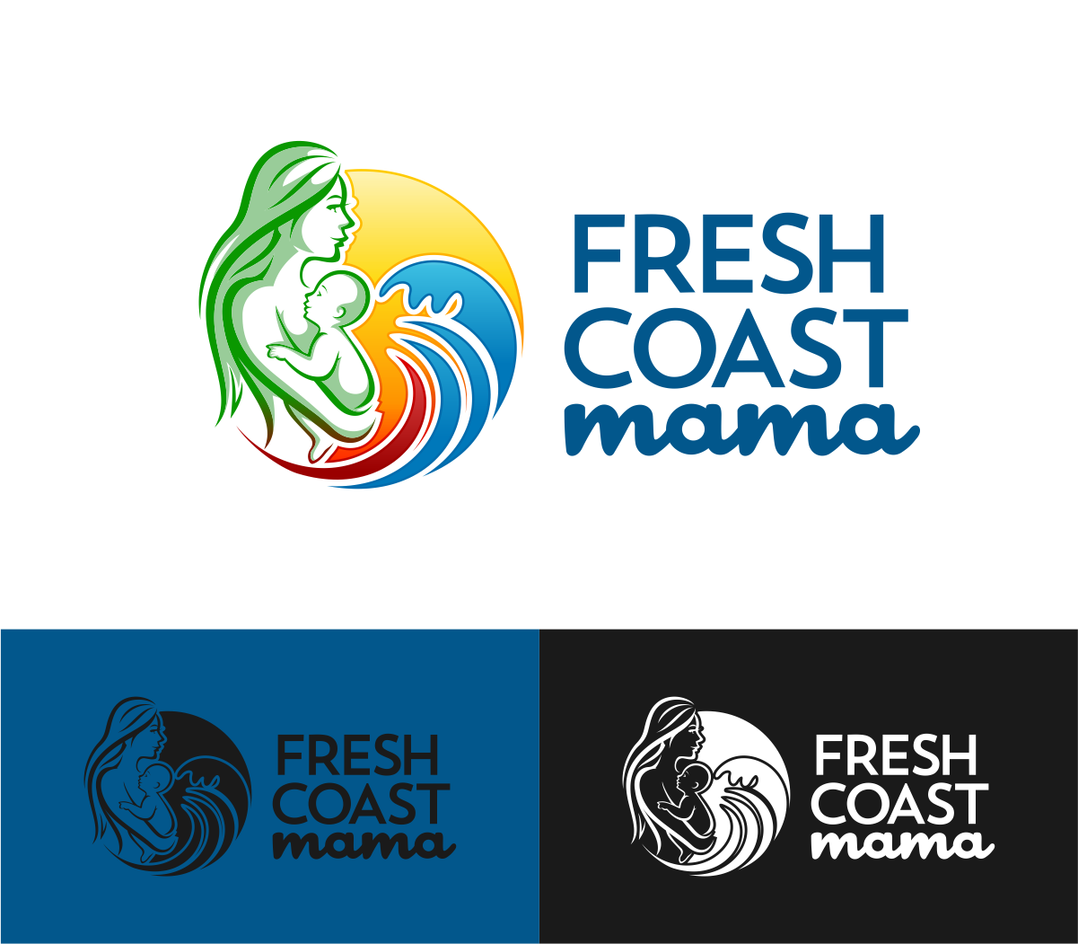 Create a winning logo for Fresh Coast Mama