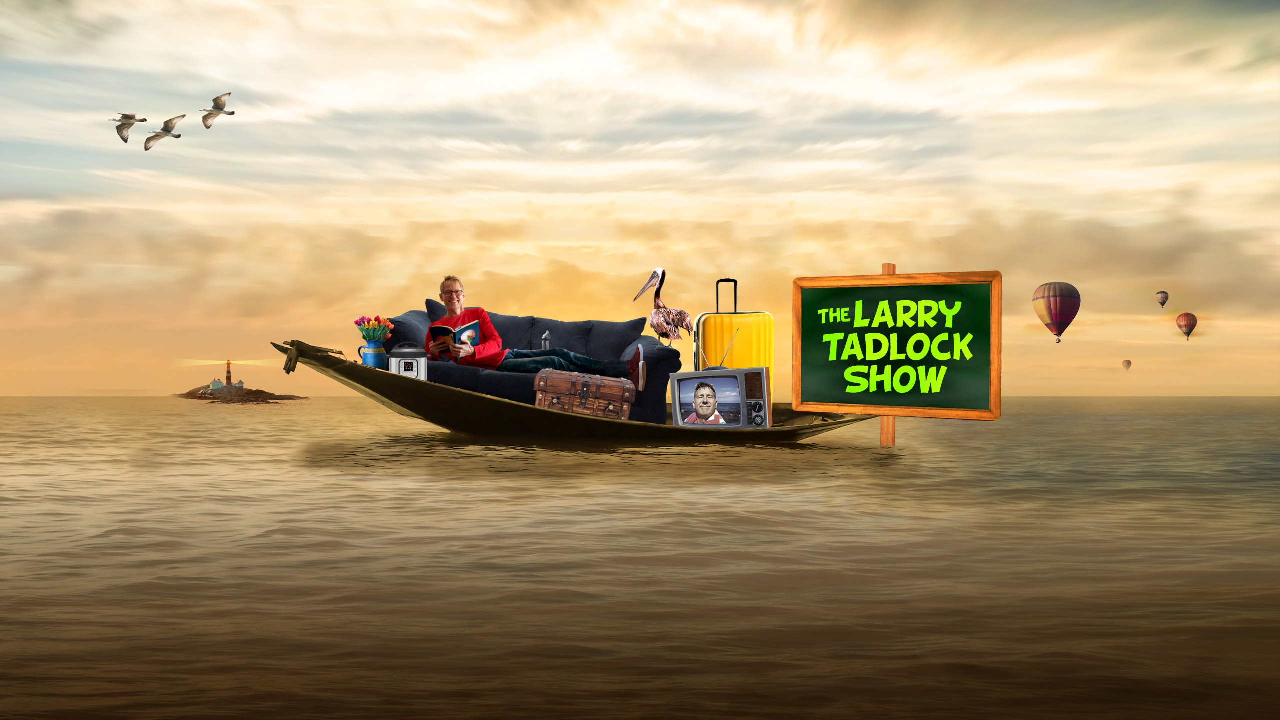 youtube  cover for comedy channel: The Larry Tadlock Show