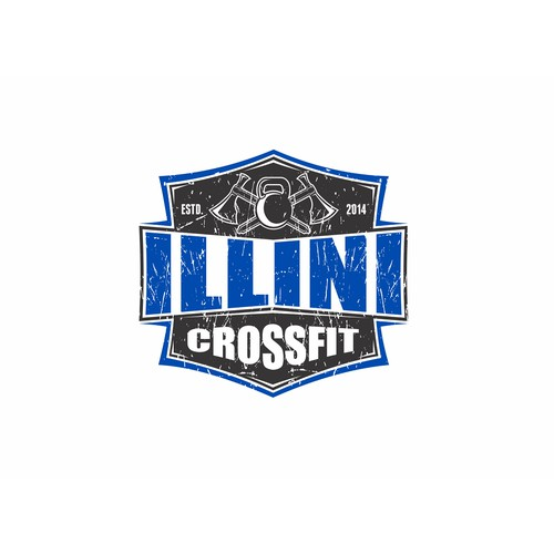 Illini CrossFit Logo Design