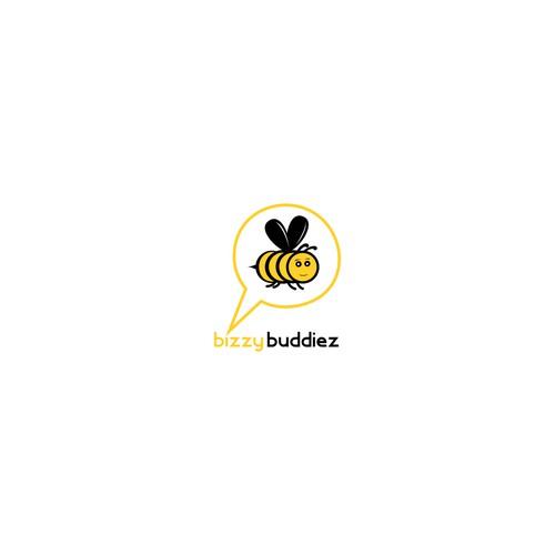 Clean logo for Bizzy Buddiez