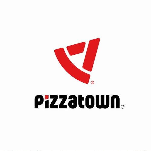 Logo concept for pizzeria.