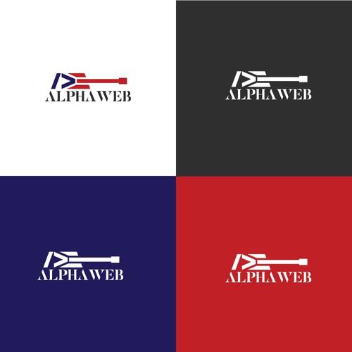 Alpha Web Logo
