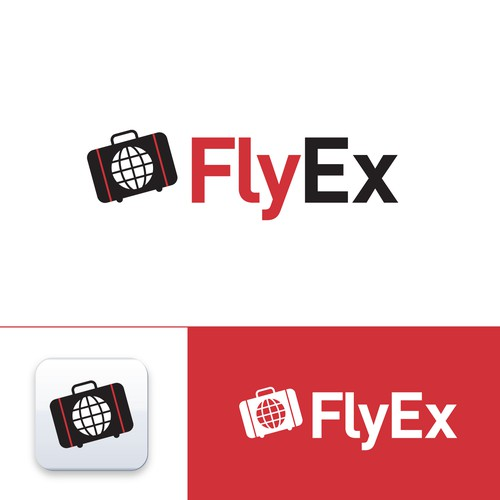 Create the Brand Identity for FlyEx, the Uber of travel