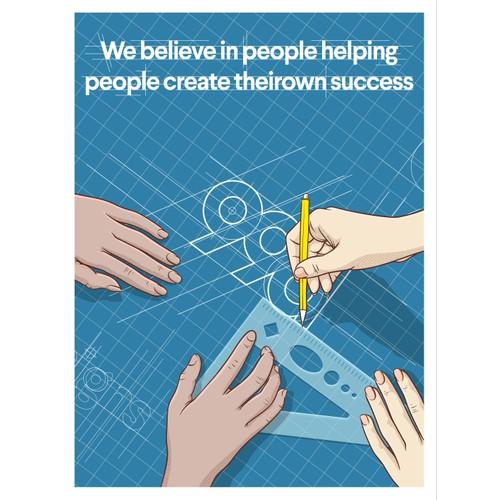 We believe in people helping people create their own success