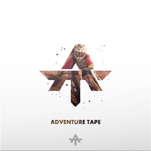 Bold and Strong concept logo for Adventure Tape