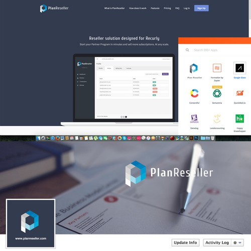 Logo for PlanReseller.com