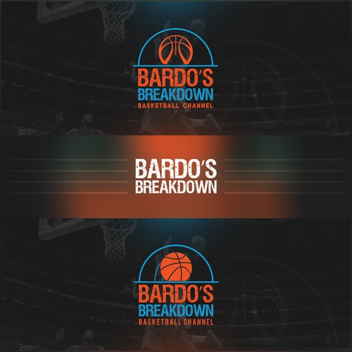 Cover Design Bardo's Breakdown Basketball Channel
