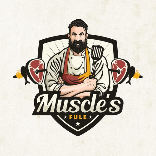 design amazing logo for Muscle's Fuel