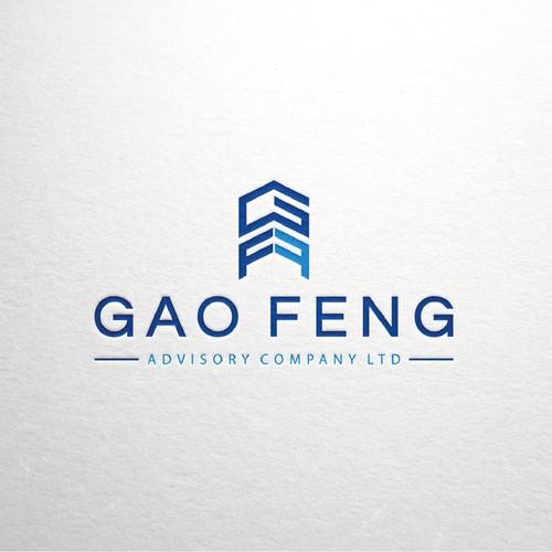 Monogram logo concept for an advisory company