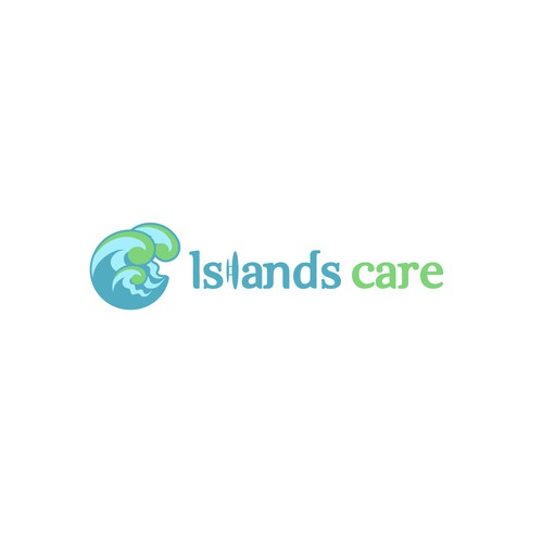 Wave Logo Concept for Islands Care