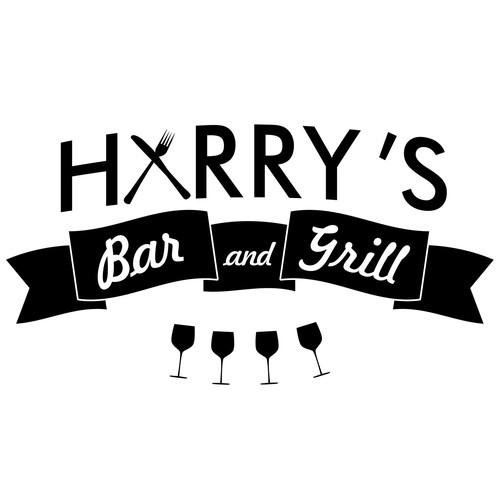 create a logo design for harrys