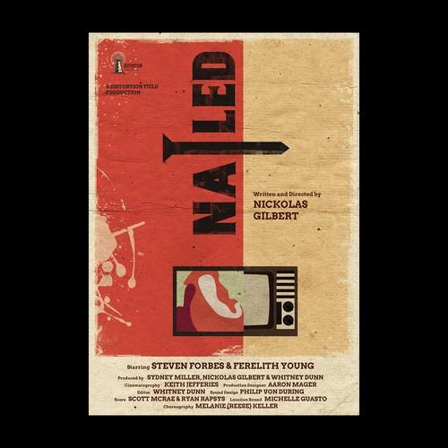 Vintage Poster for Short Film