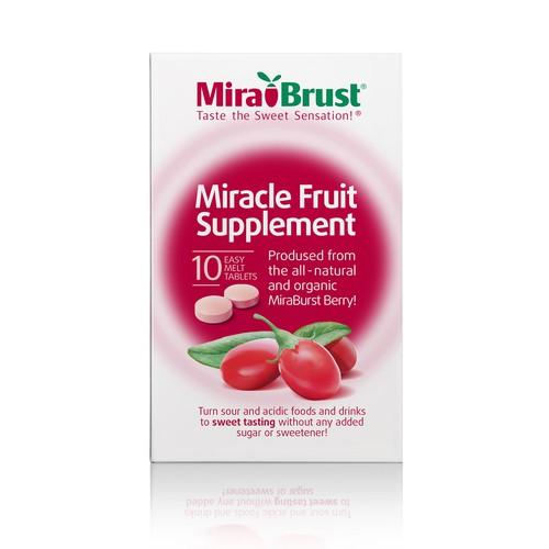 Eye-catching  fruit supplement