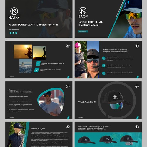 NAOX Presentation Design