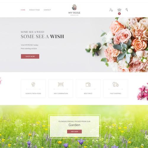Floral Shop Template
