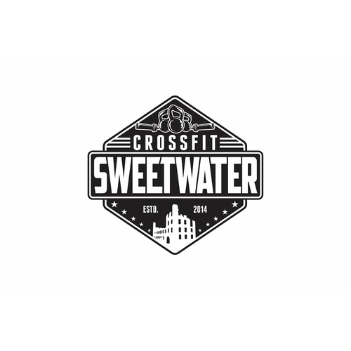 CrossFit Sweetwater logo design