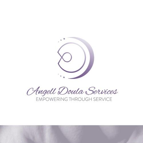 Uplifting abstract logo