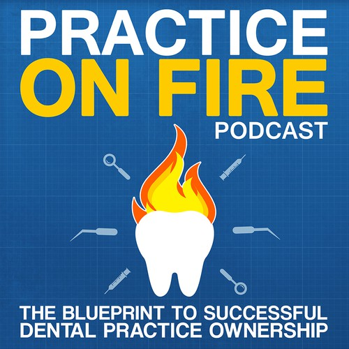 Practice of Fire Podcast Cover Concept