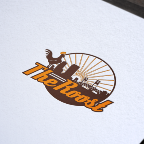 logo design for The Roost