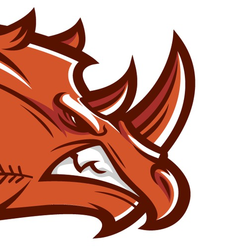 baseball logo, rhino park