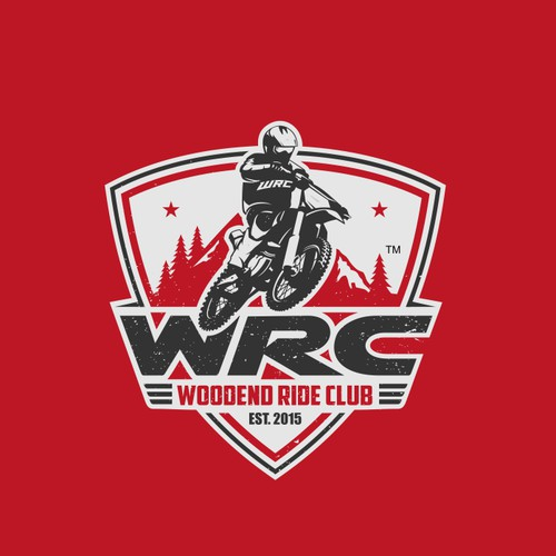 Bold Strong Powerful logo for riding club
