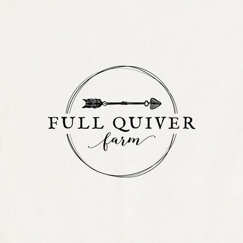 Full Quiver Farm logo design