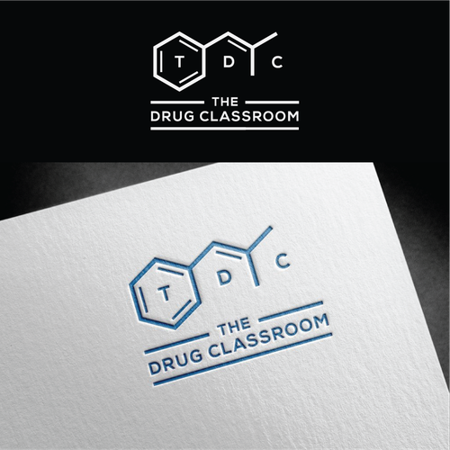 The Drug Classroom Logo Design