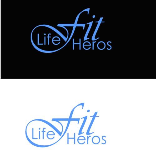 Create a logo for a online fitness training program