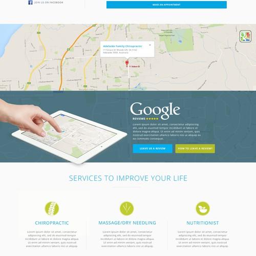 Chiropractic Website