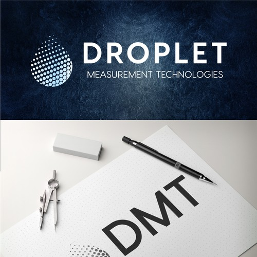 modern look Droplet Measurement Technologies logo