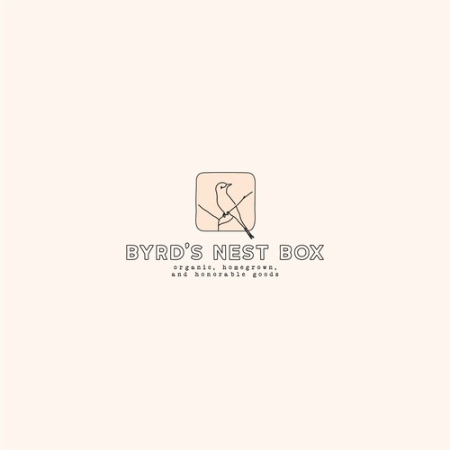 Brand Identity Concept for Byrd's Nest Box
