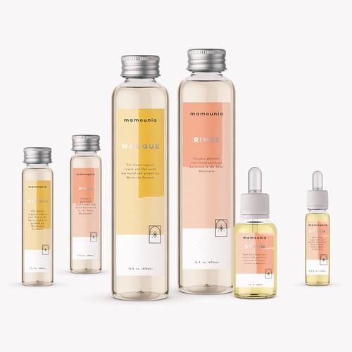 Mamounia HairCare Packaging